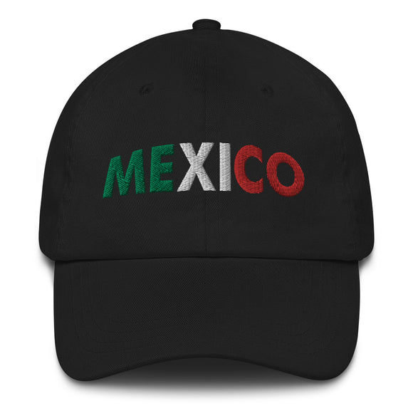 Mexico Embroidered Dad Hat
