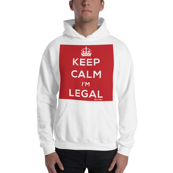 Keep Calm I'm Legal Hooded Sweatshirt