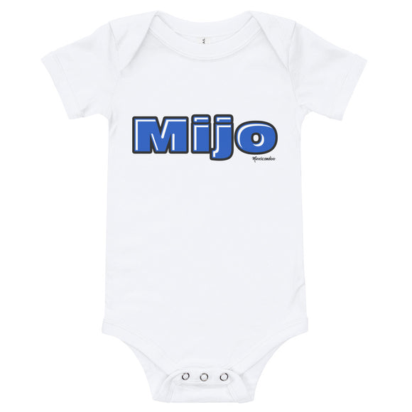 Mijo Baby Boy Bodysuit 100% Cotton