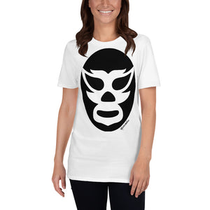 Luchador Black Mask Short-Sleeve Unisex T-Shirt