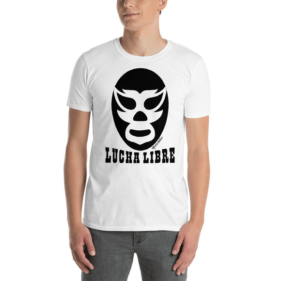 Luchador Lucha Libre Black Mask Short-Sleeve Unisex T-Shirt