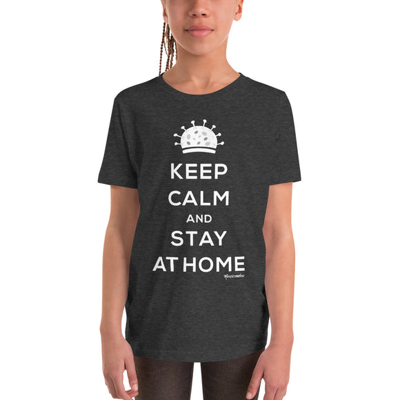 Kid youth stay at home t-shirt