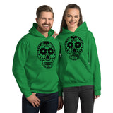 Calavera (Sugar Skull) Hooded Sweatshirt