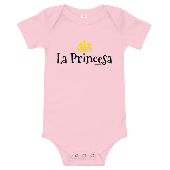 La Princesa Baby Bodysuit (Onesie) 100% Cotton