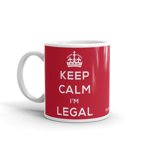 Keep Calm I'm Legal Mug