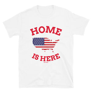 Home is here t-shirt daca