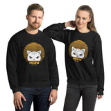 Cute Funny Vintage Retro Style Kawaii Cat Unisex Sweatshirt