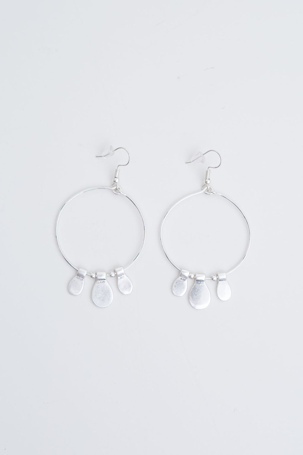 Lala Earrings - Silver - The Bohemian Corner