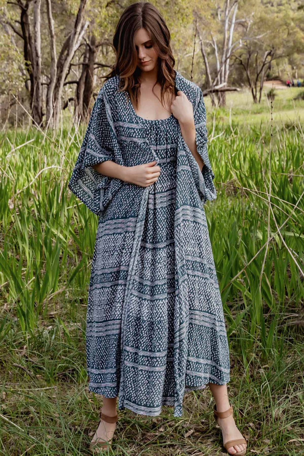 Summer Breeze Kimono - Eden - The Bohemian Corner
