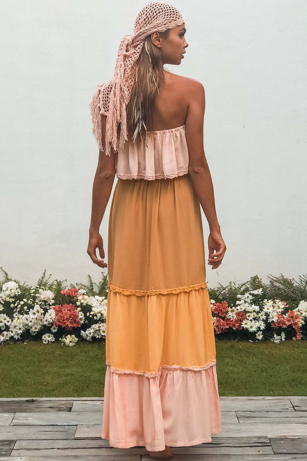 Rainbow Maxi - Mango Splice - The Bohemian Corner