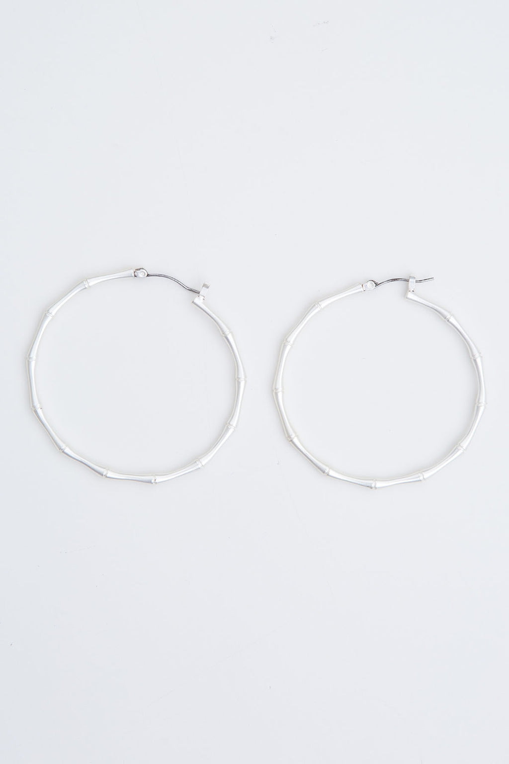 Ramble Hoops - Silver - The Bohemian Corner
