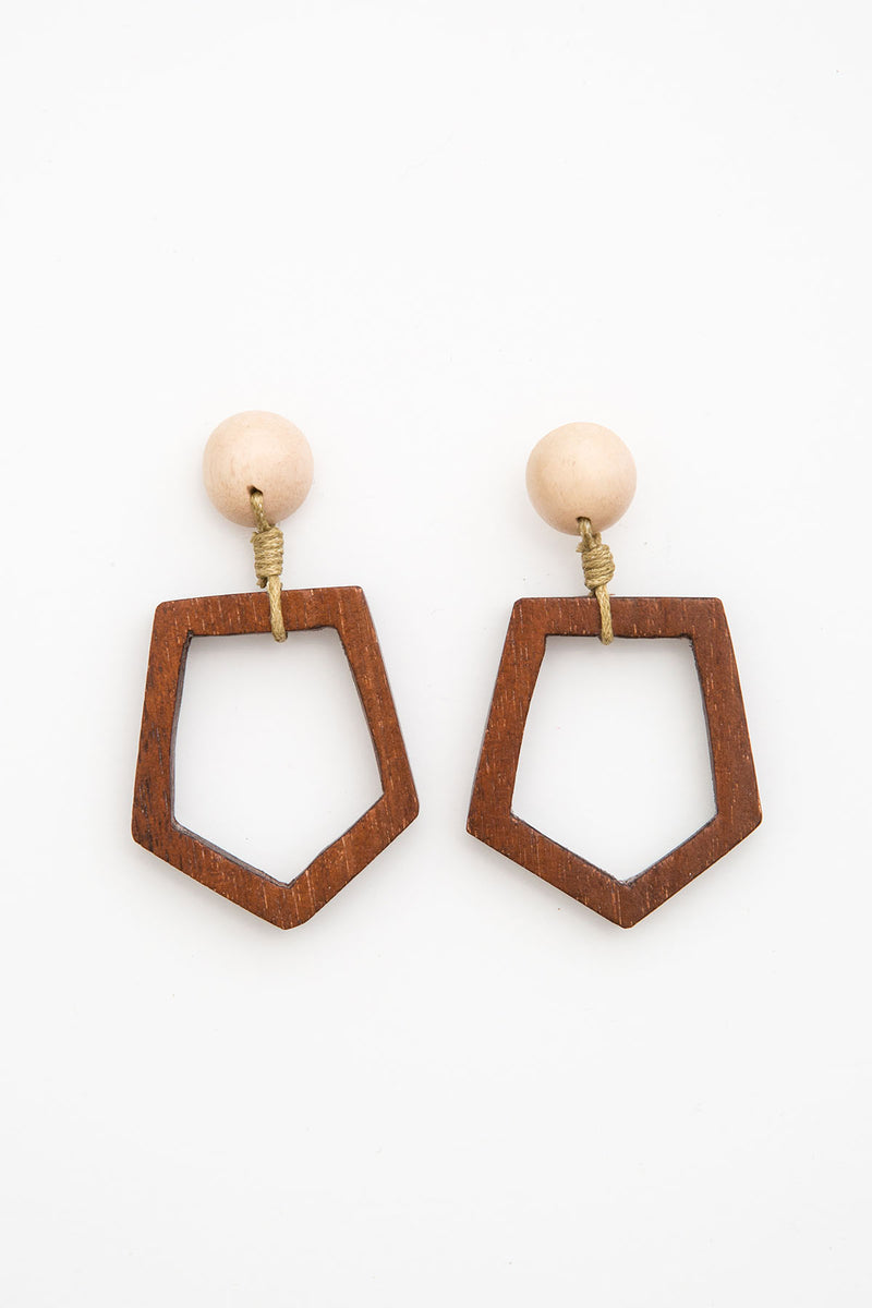 Hoffman Earrings - Clay - The Bohemian Corner