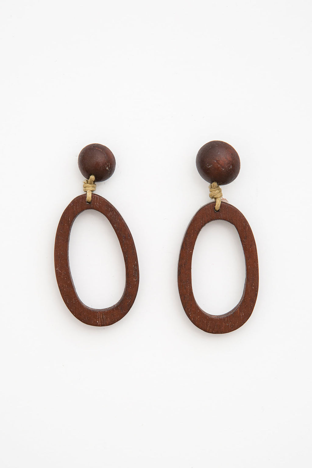 Samana Earrings - Clay - The Bohemian Corner