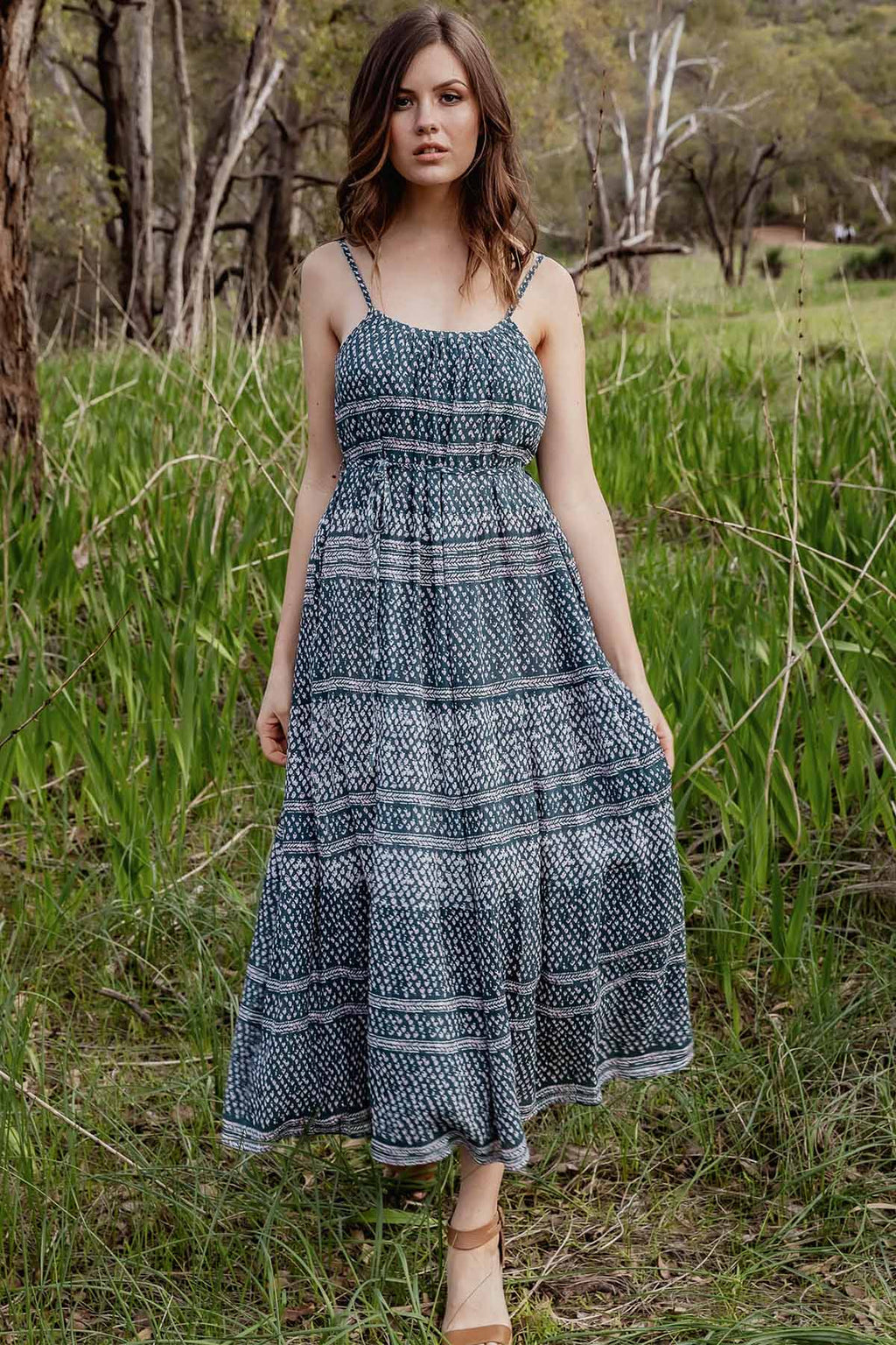 Harmony Maxi Dress - Eden - The Bohemian Corner