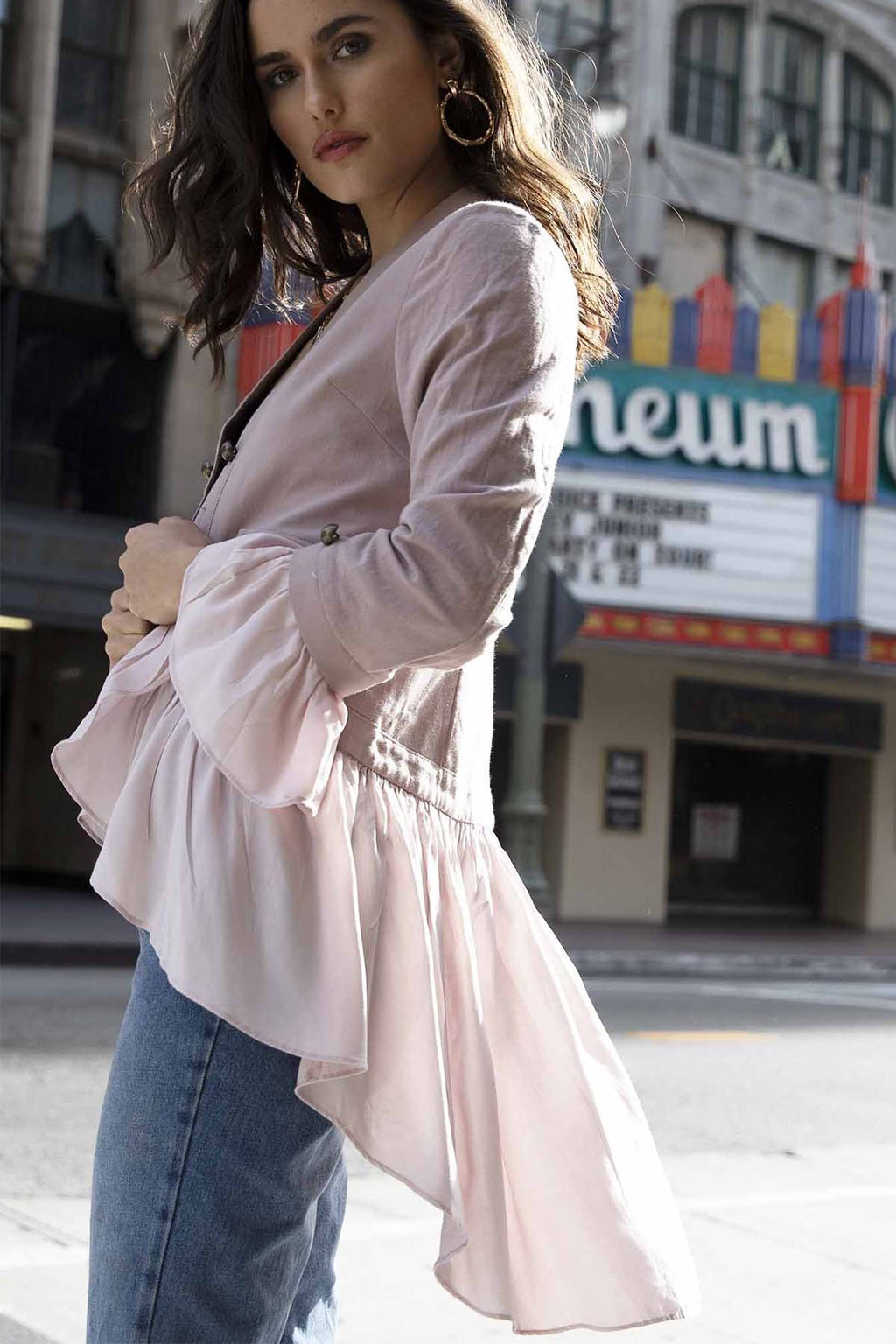 Hawking Jacket - Pink - The Bohemian Corner