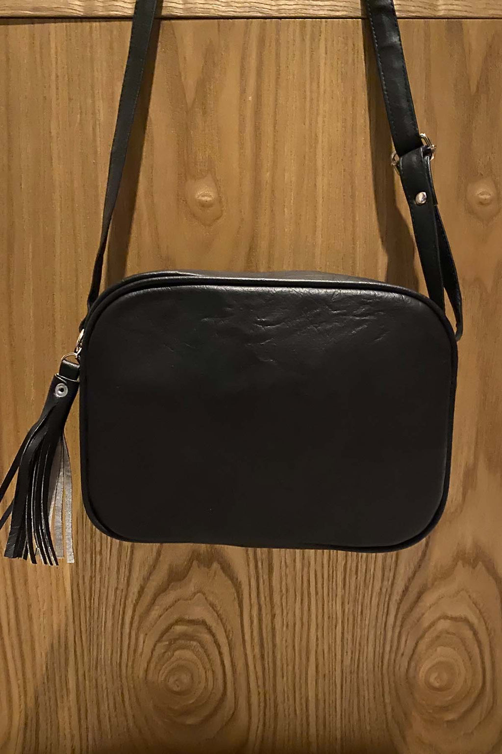 Carina Bag - Distressed Black - The Bohemian Corner