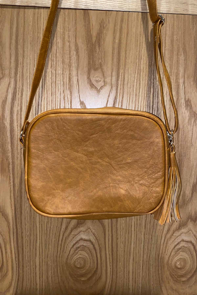 Carina Bag - Distressed Tan - The Bohemian Corner