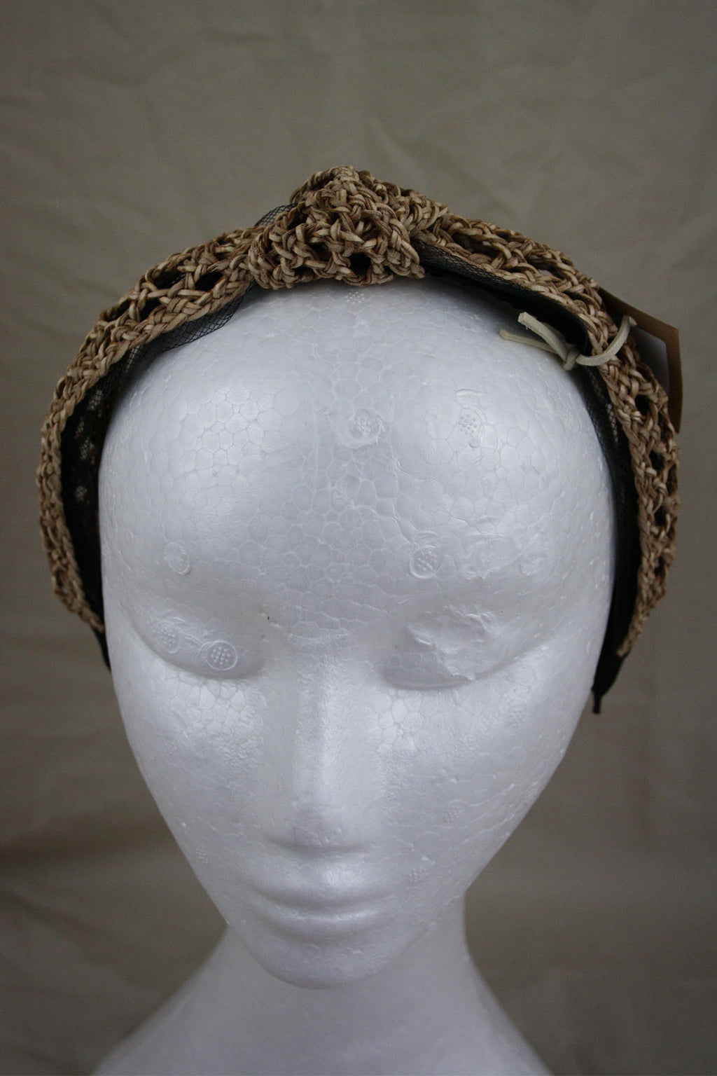 Knot Headband - Natural - The Bohemian Corner