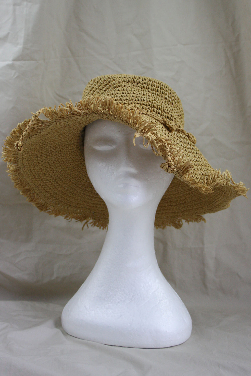 Sable Hat - Natural - The Bohemian Corner