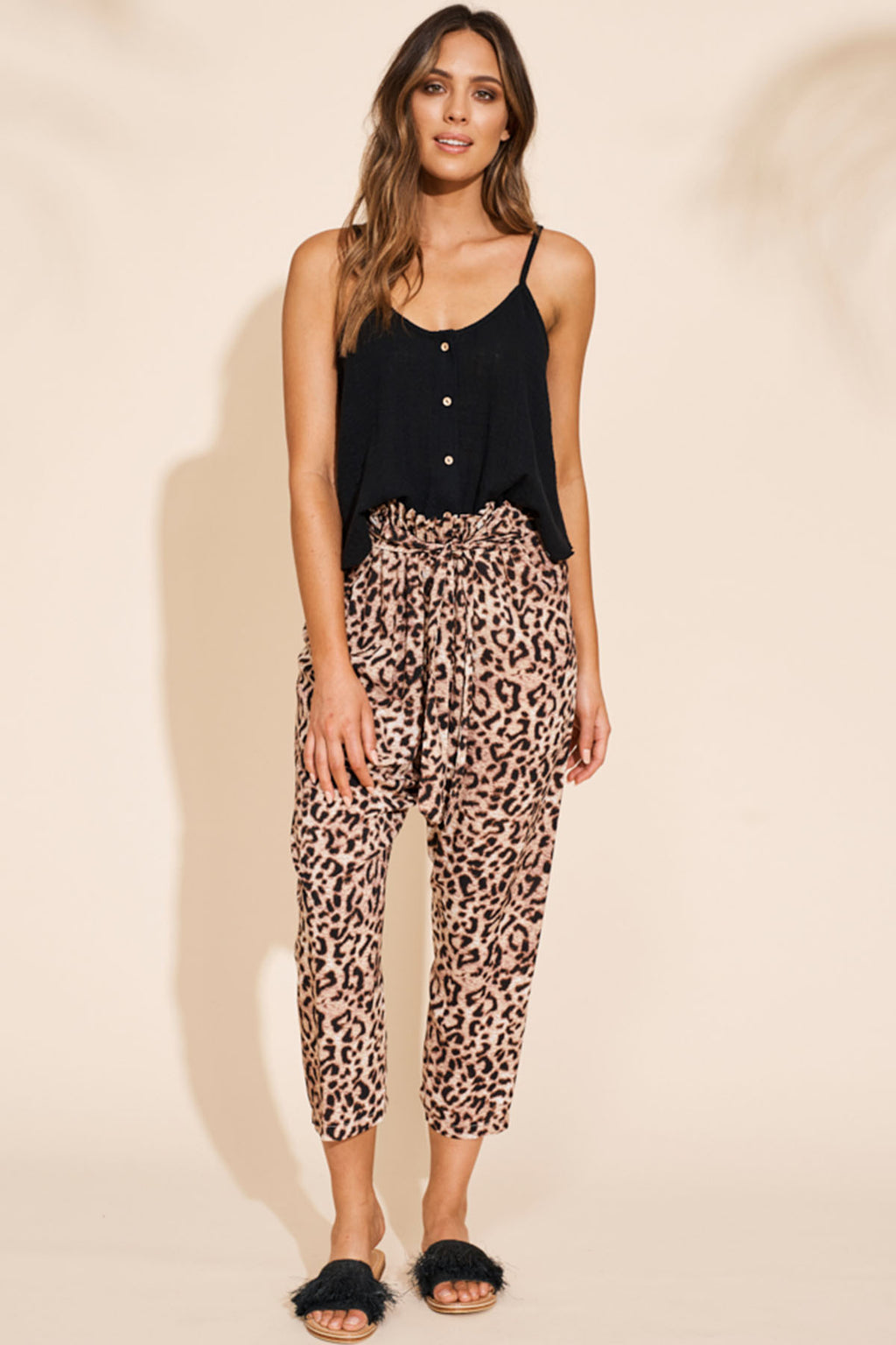 Savannah Pant - Leopard - The Bohemian Corner