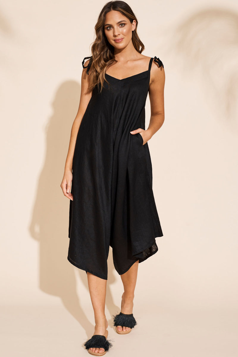 Masai Jumpsuit - Black - The Bohemian Corner