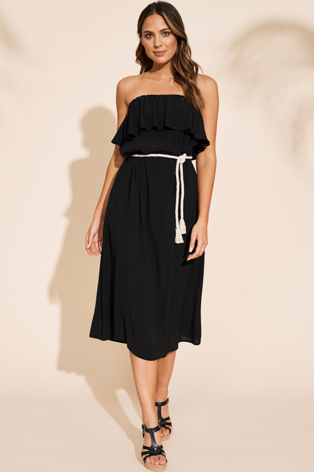 Savannah Dress - Black - The Bohemian Corner