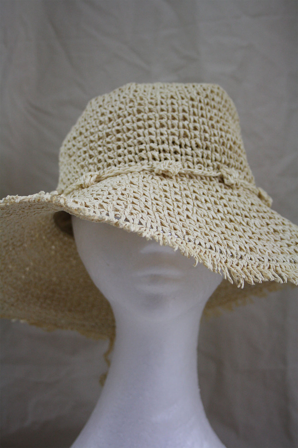 Sable Hat - Ivory - The Bohemian Corner