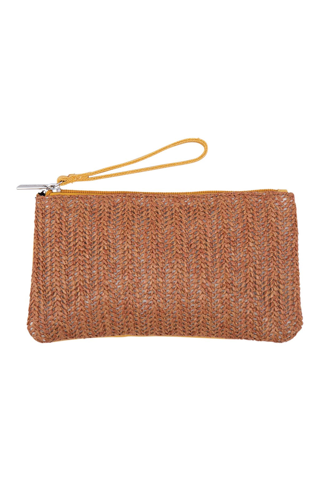 Sable Pouch - Saffron - The Bohemian Corner