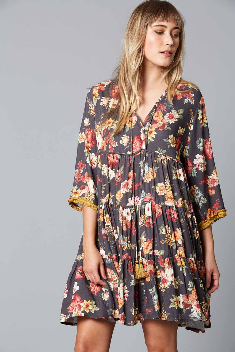 Dawn Dress - Wildflower - The Bohemian Corner