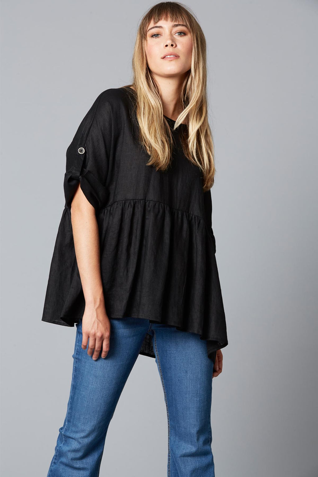 Eve Top - Black - The Bohemian Corner