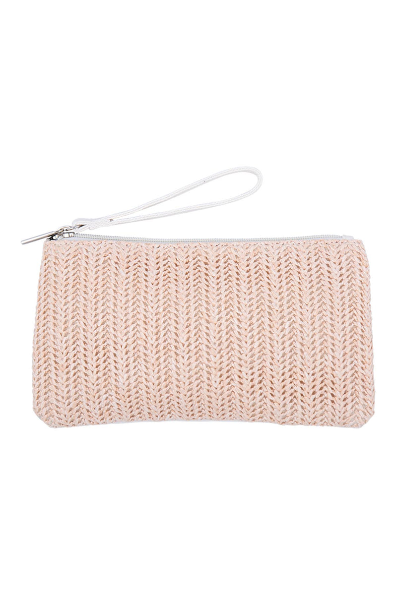 Sable Pouch - White - The Bohemian Corner