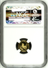 China 1996 Gold 5 Yuan Eastern Unicorn Horse NGC MS68 Mintage-5000