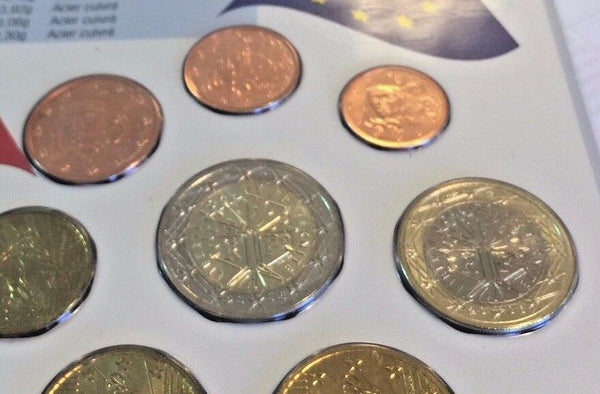 France 2006 Official Euro Set 8 Coin Monnaie De Paris Mintage 500 sets only