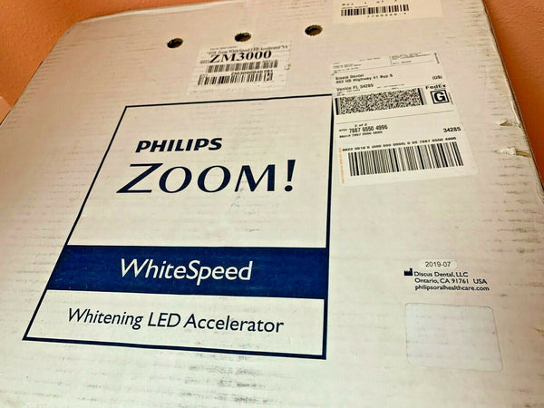 Philips Zoom! Dental LED Teeth Whitening Accelerator Light BRAND NEW in a box