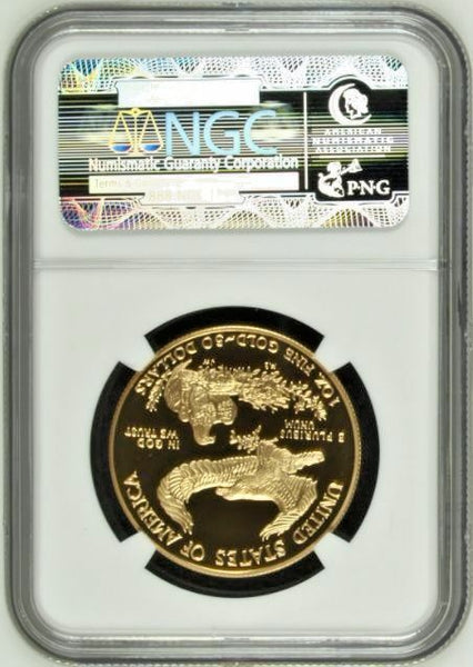 1998 W Gold Set $50 25 10 5 American Eagle 4 Coins United States NGC PF69-70