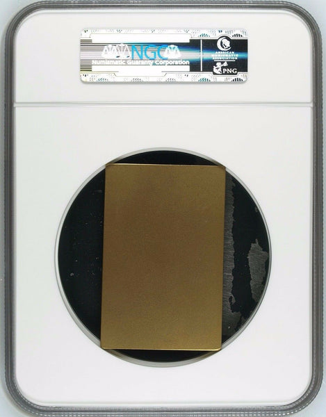 Swiss 1934 Medal Shooting Fest Fribourg Bronze R-433a Rectangular NGC MS65 BN