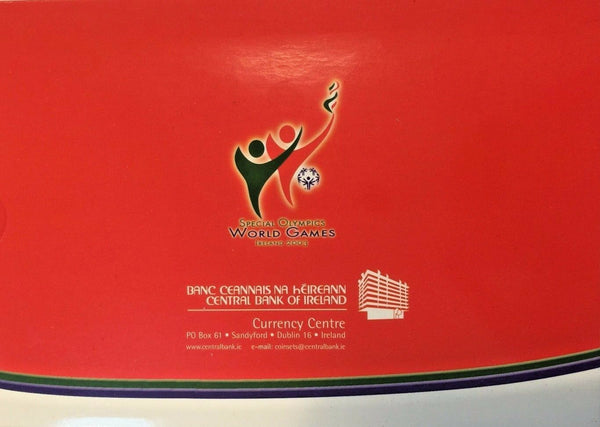 Ireland 2003 Official Euro Set 8 Coins Special Olympics Games Special Edition