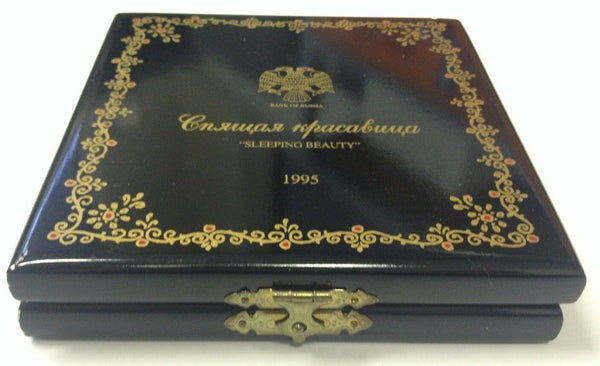 Russia 1995 Set 3 Platinum Coins Ballet Sleeping Beauty NGC PF69 Box COA