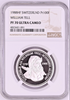 Swiss 1988 Platinum Shooting Thaler Medal Uri Altdorf William Tell NGC PF70