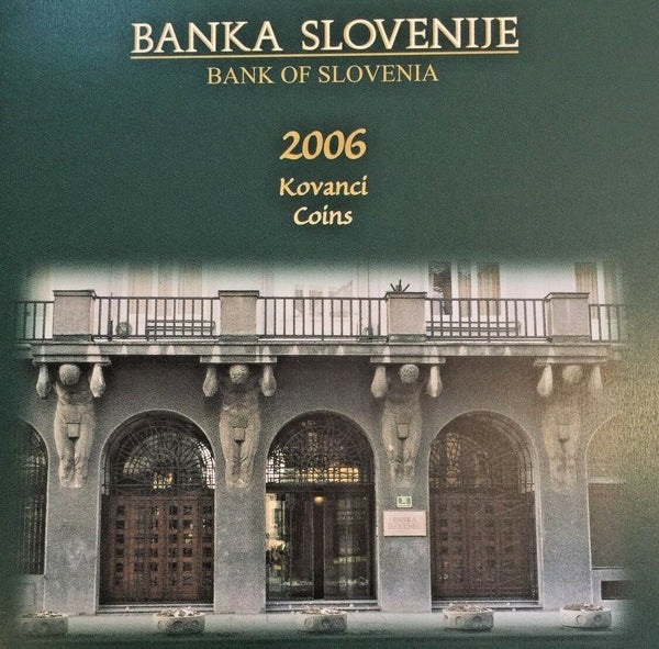 Slovenia 2006 Set 10 Proof Coins 250th Anniversary Birth of Anton Tomaz Linhart
