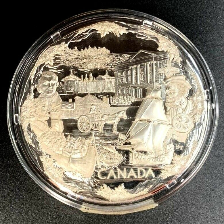 2008 Silver $250 Canada Kilo Olympic Towards Confederation Vancouver NGC PF68