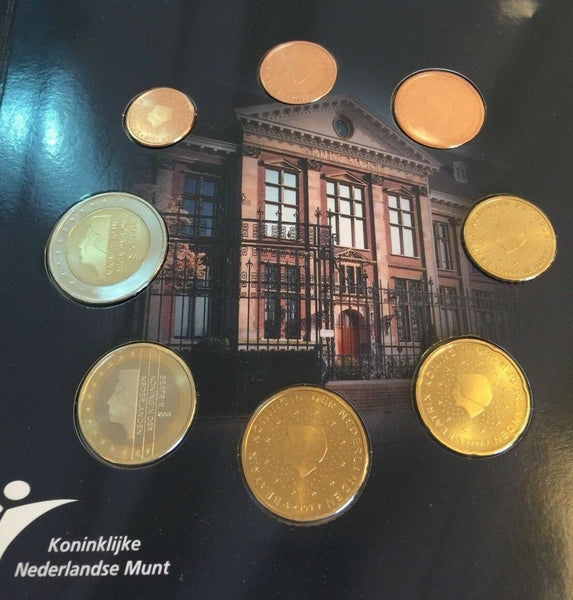 2003 BeNeLux 24 coins Euro Set + Silver Medal Belgium Netherlands Luxembourg