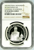 2013 Russia Silver 3 Roubles Cathedral of Gorodok NGC PF70 Low Mintage