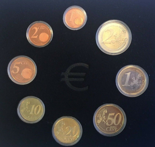 Portugal 2006 Complete Official Euro Proof Set 8 Coins Box COA