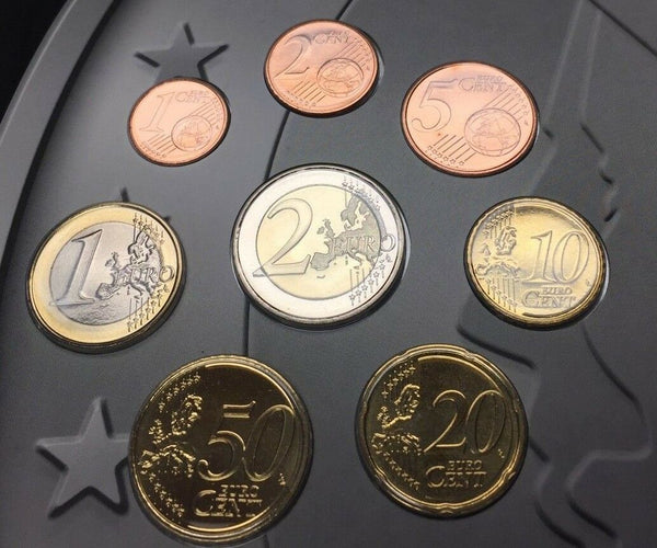 2008 Netherlands 8 Euro Coins Set National Collection Special Edition Holland