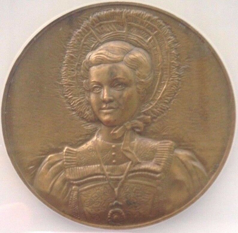 Swiss 1963 Bronze Medal Shooting Fest St Gallen Luzern Woman NGC MS62