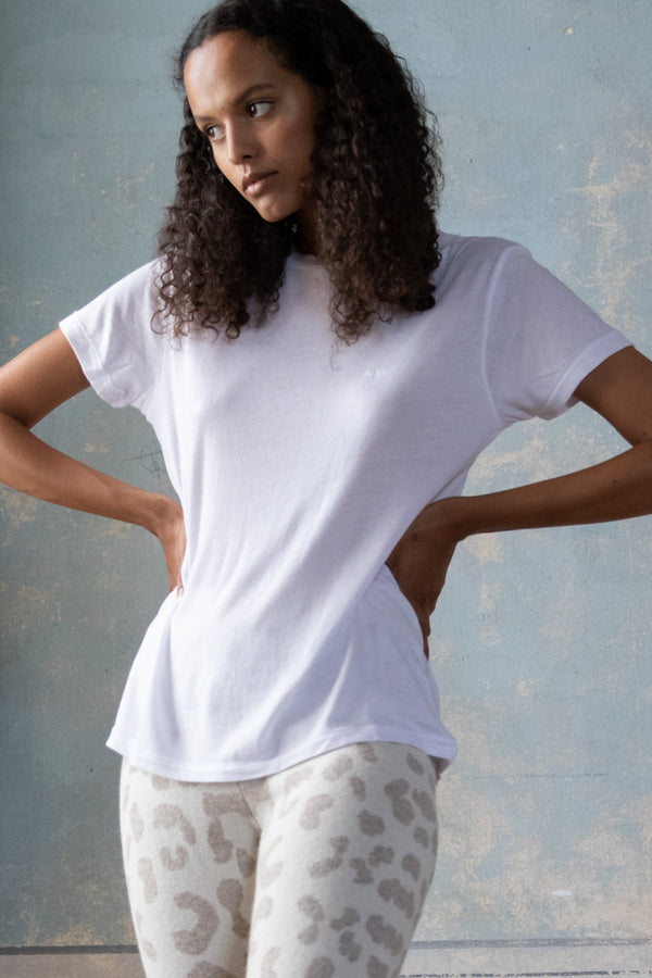Slouchy Tee Optic White