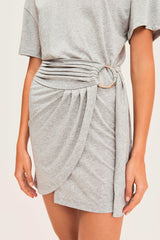 Erika Dress Grey
