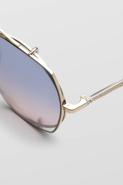 Sunglasses - CH0042S002 - Demi Gold