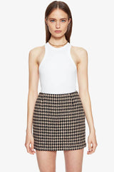 Marie Skirt Houndstooth